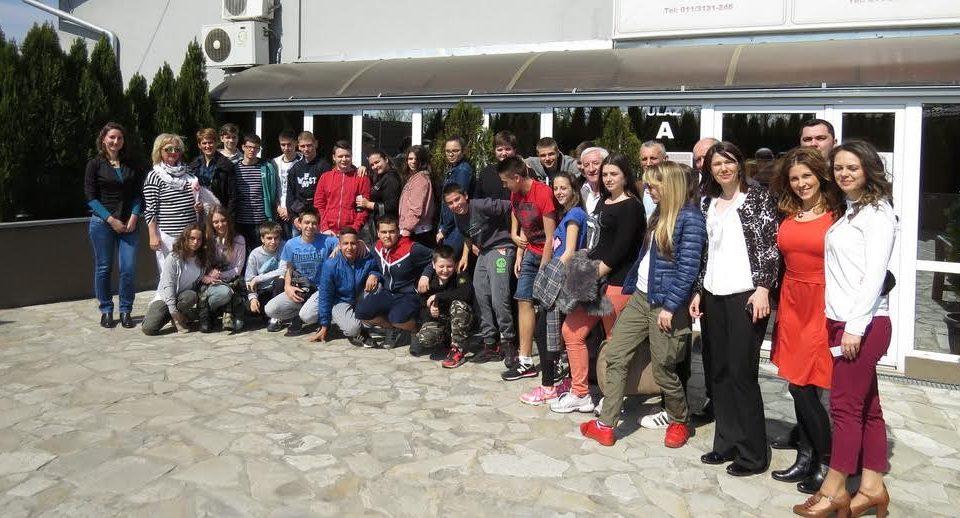 Poseta učenika OŠ Vuk Karadžić iz Surčina